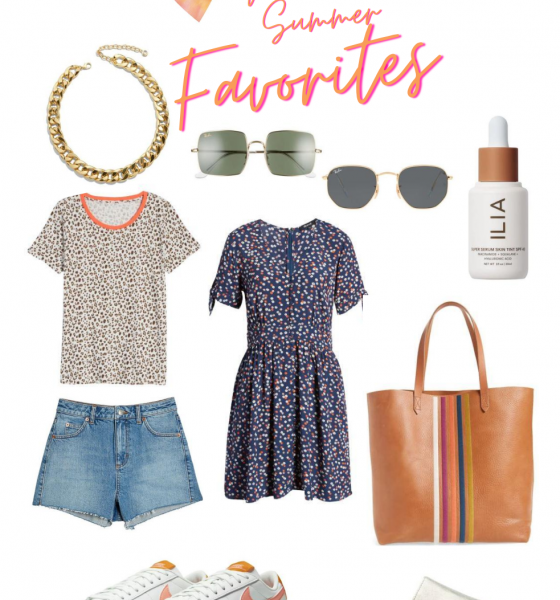 Here Are My Latest Nordstrom Summer Favorites