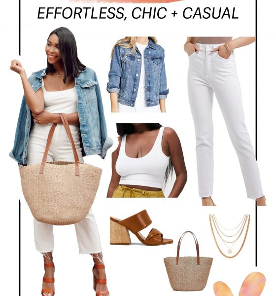 Here's an Effortless, Chic, and Casual Date Night Outfit Idea