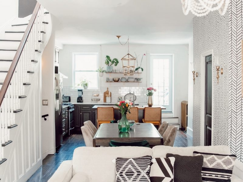 Here Are The Before and After's on My Brownstone Renovation