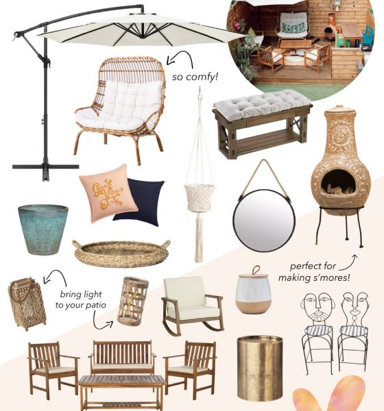 Must-have Patio Furniture for All The Cozy Outdoor Vibes