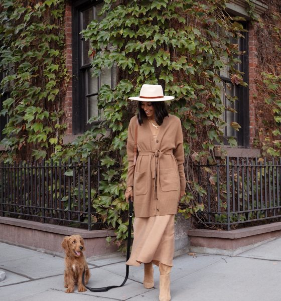 This Fall Here's How to Rock Your Slip Dress