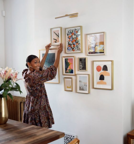 How I Styled My Dream Gallery Wall using Minted Art