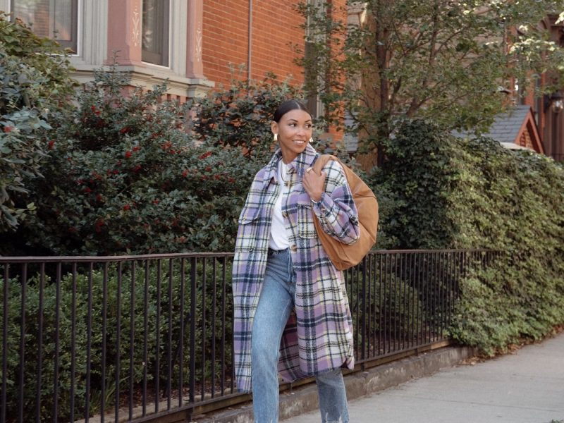 Step Into Fall With An Oversized Shirt-Jacket That's Under $100!